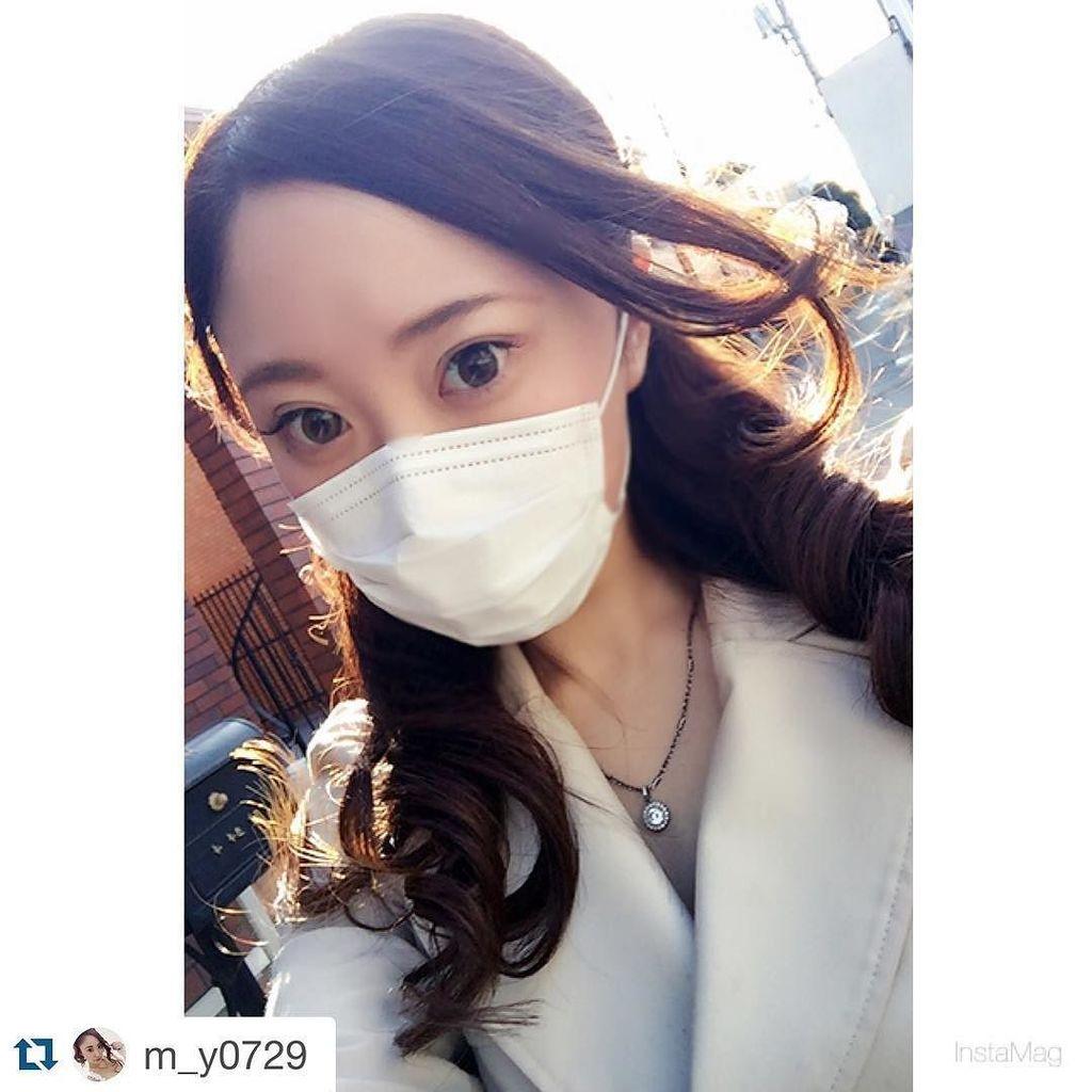 マスクが不足しているらしい日本、せめてマスク美人で楽しむぜ