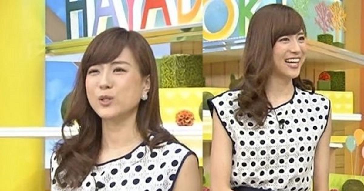 【笹川友里】ADから美人女子アナに大昇格の逸材パンチラ