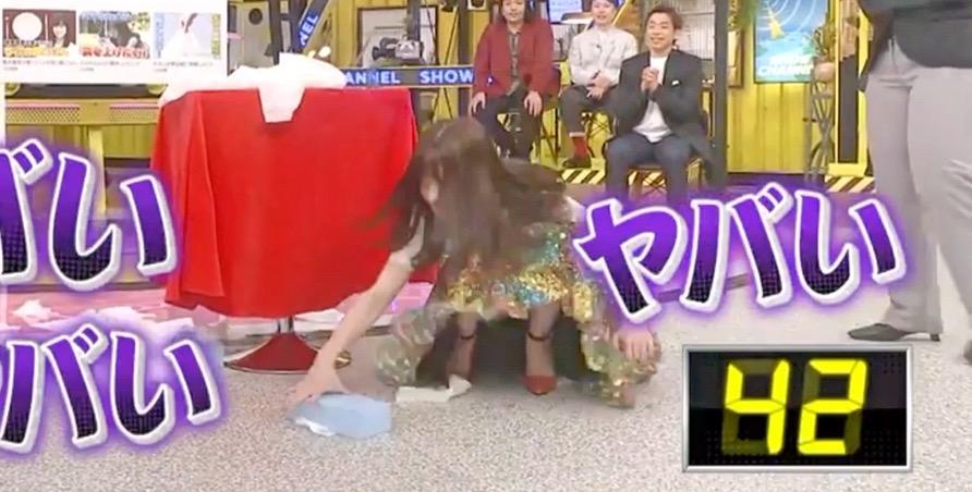 【橋本環奈】ティッシュ抜きギネス達成!(1回前の失敗したやつ)