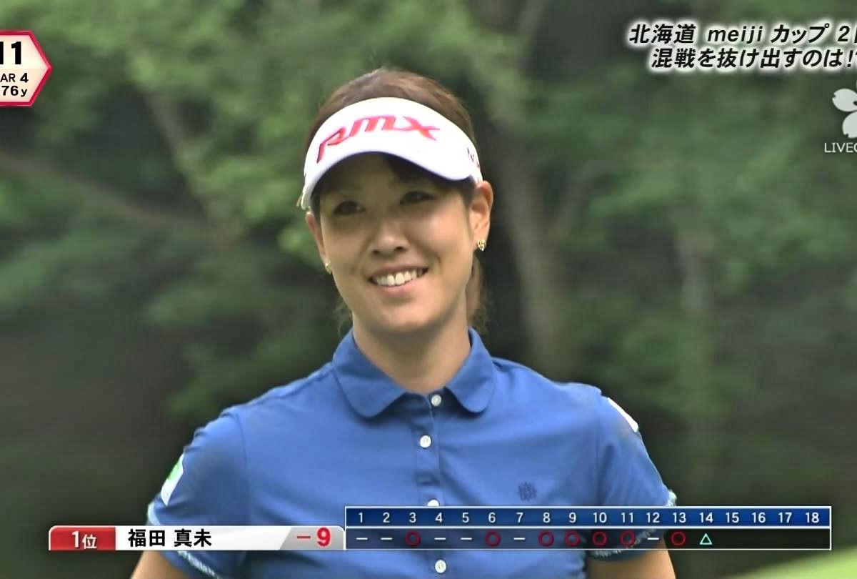 【福田真未】美女偏差値70?! ルックスも肢体も美しいゴルファー