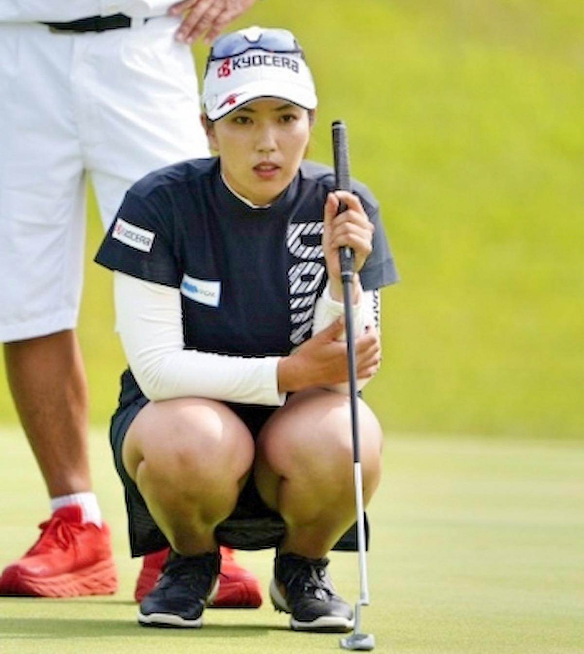 【笠りつ子】ヨネックスレディスの美女ゴルファーたち