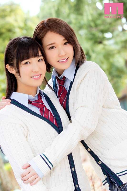 【椎名そら】制服レズビアン、栄川乃亜とともに